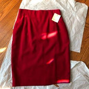 DANA BUCHMAN Pencil Skirt, Sz 12-14